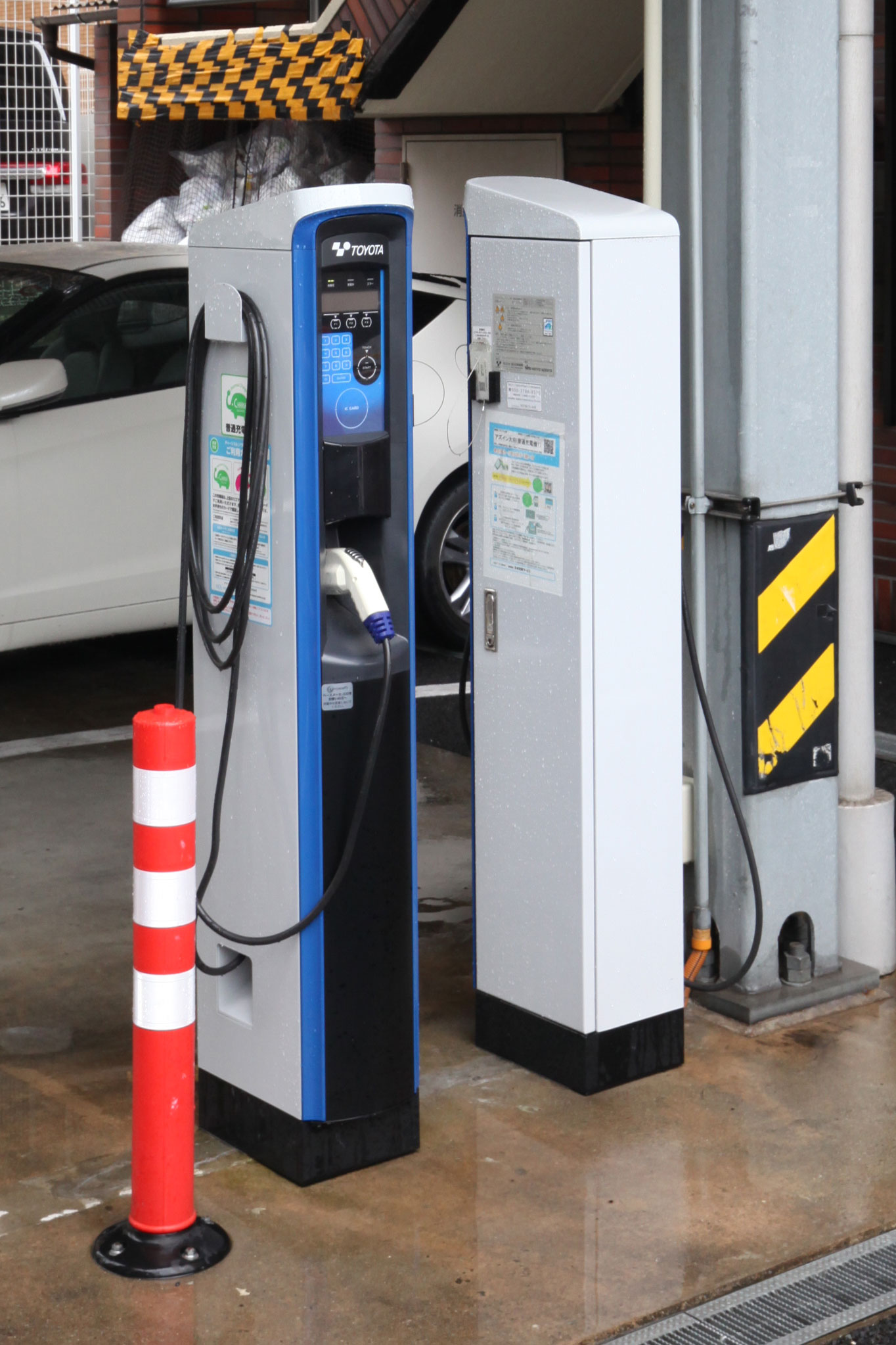 Equipped with electric car charger